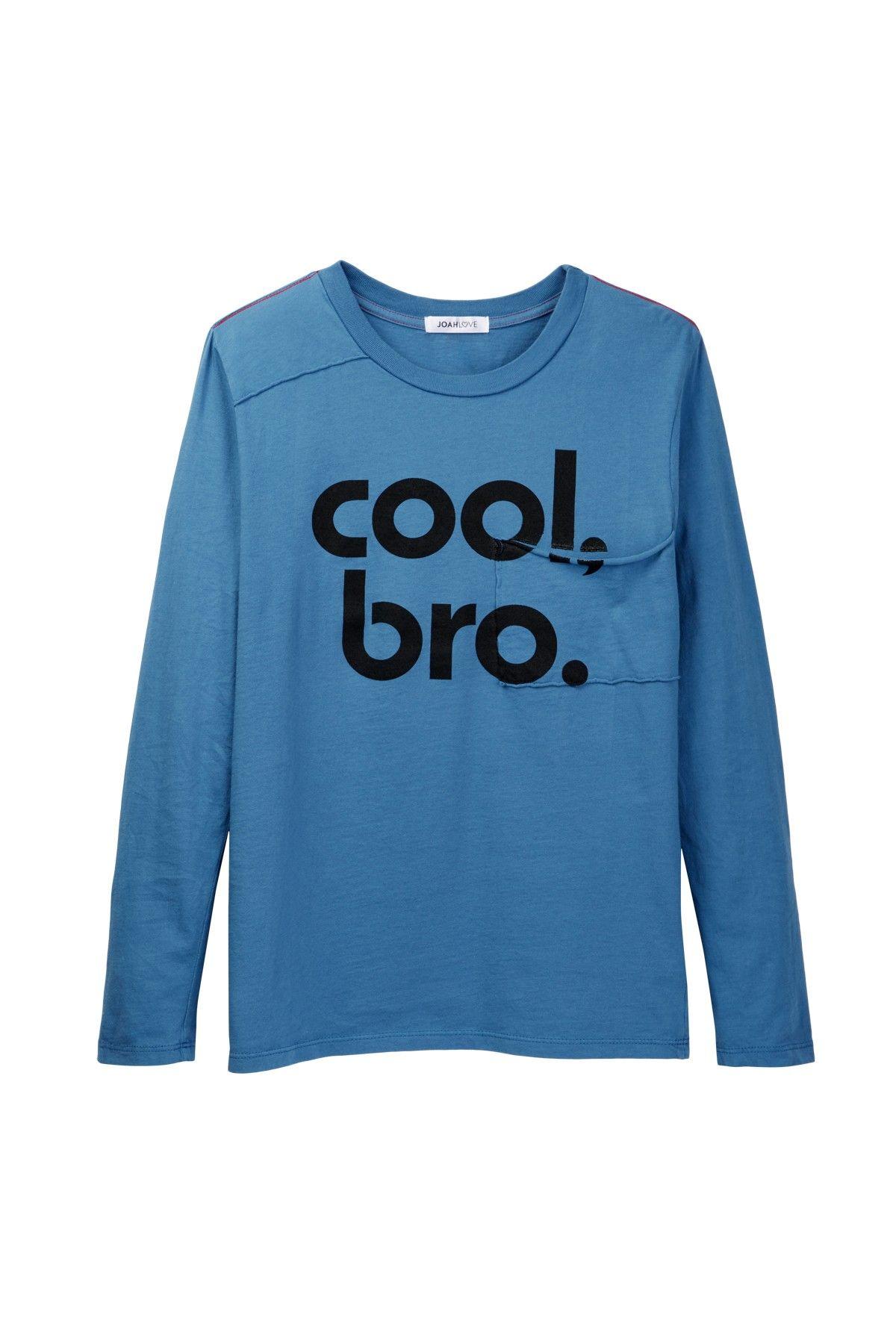 Cool Bro Long Sleeve Tee (Baby, Toddler, Little Boys, & Big Boys)