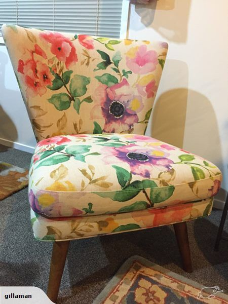 Cool Floral Lounge Chair Trade Me 1 500 Buy Now 3Nov16 Really Squirreltailoven Fun Painted Chair Ideas Images Squirreltailovenorg