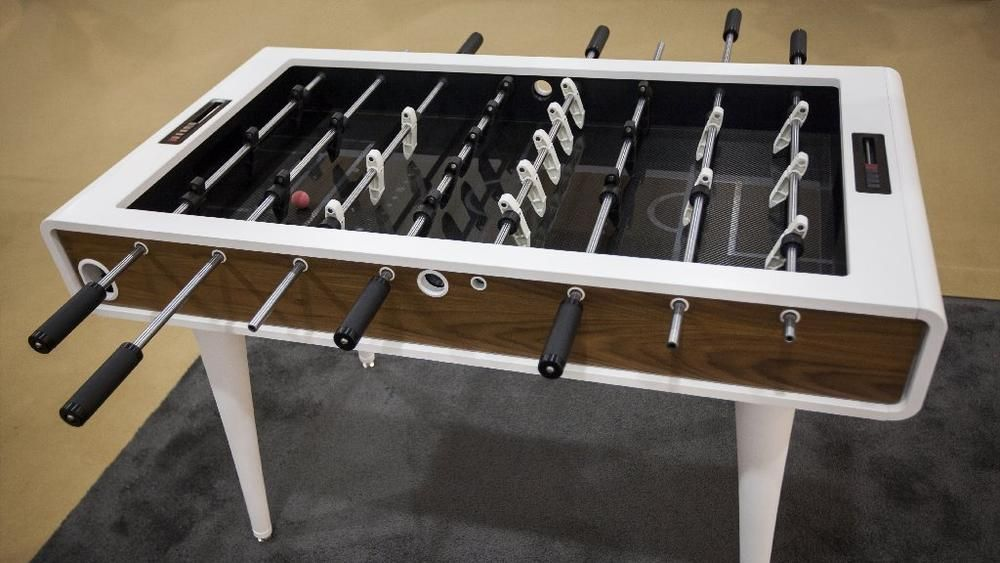 Mars Made foosball table at ICFF 2014
