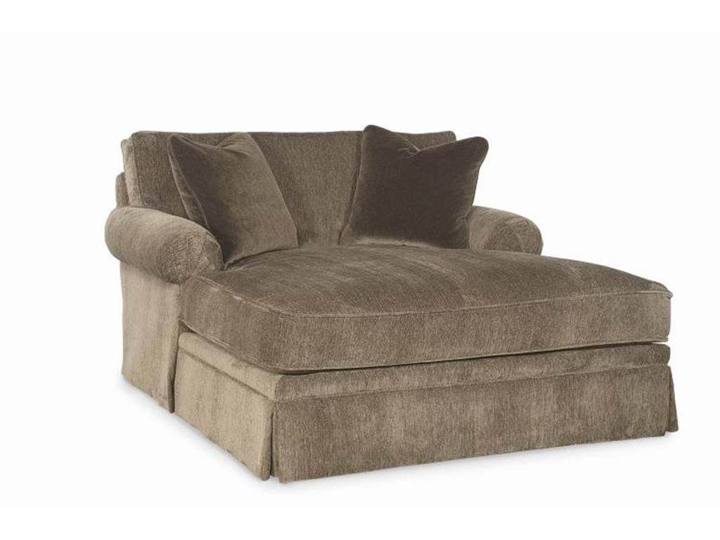 Awesome To Use Comfortable Double Chaise Lounge Indoor The