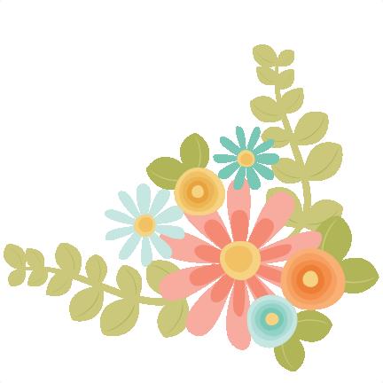 Flowers SVG scrapbook cut file cute clipart files for silhouette ...