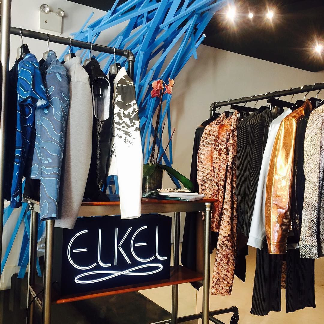 BOOM   #FW15 is now available in the #NYC #popupshop @elkel.nyc in #Soho. Drop by and get into it! by andrewcoimbra