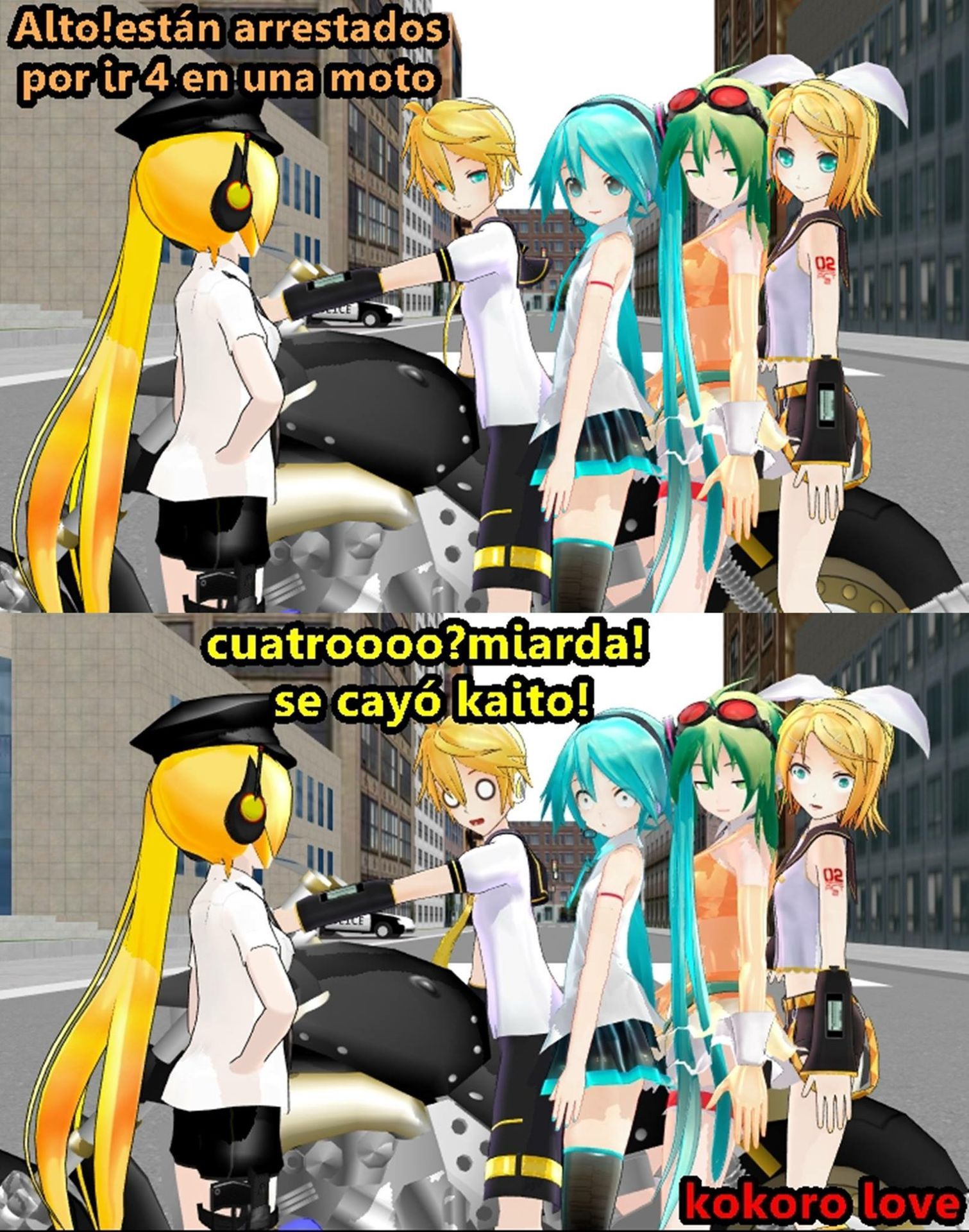 Memes  de Vocaloid