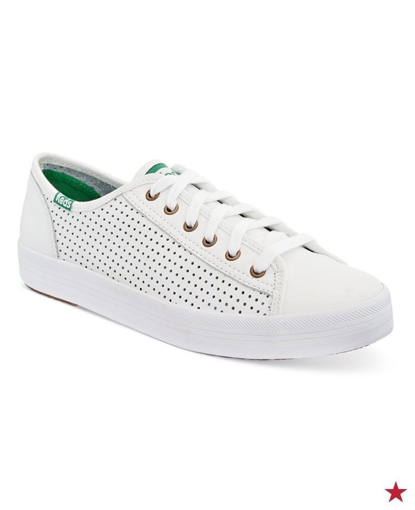 Keds Women's Kickstart Perforated Sneakers - Sneakers - Shoes - Macy's