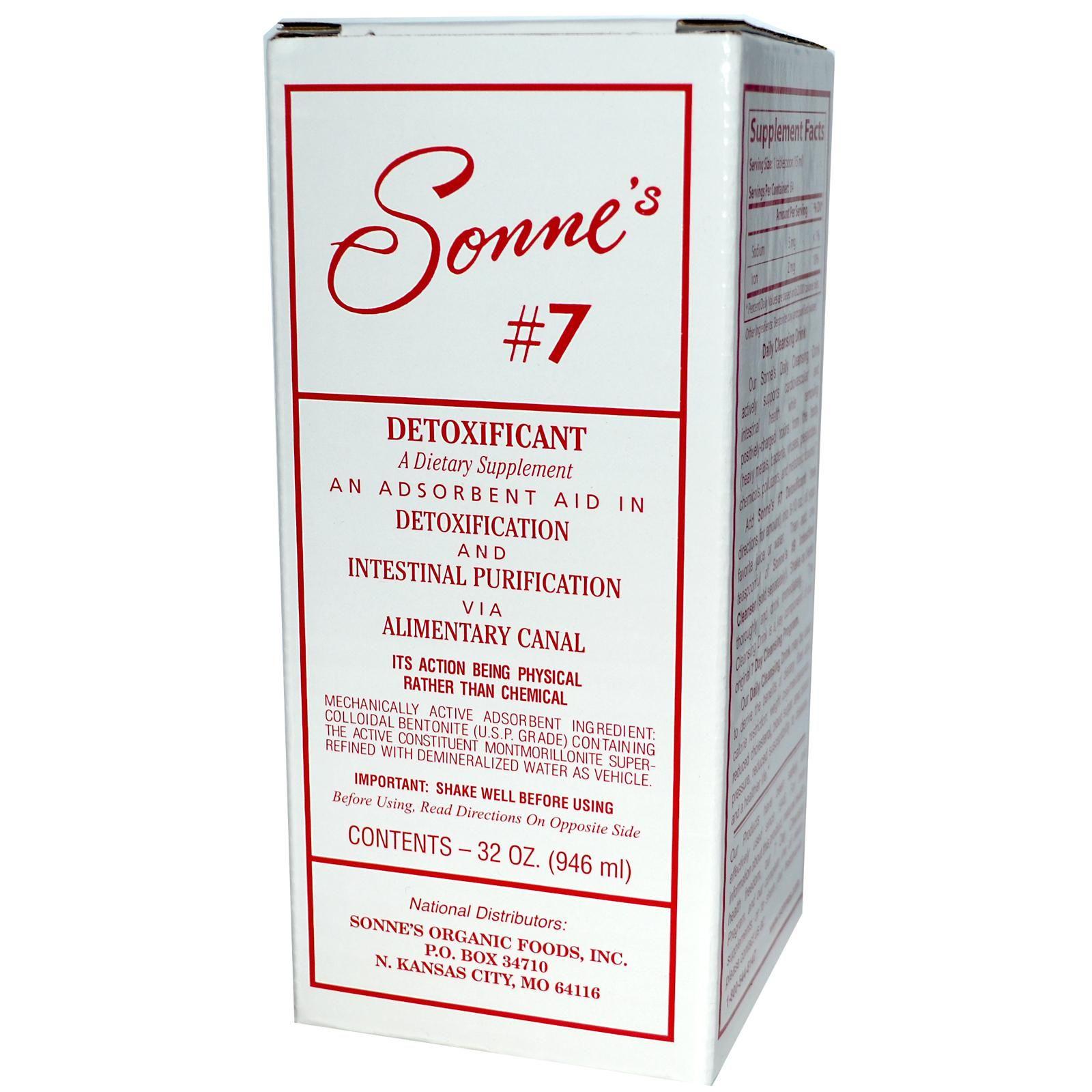 Sonneus Detoxificant oz ml Discontinued Item