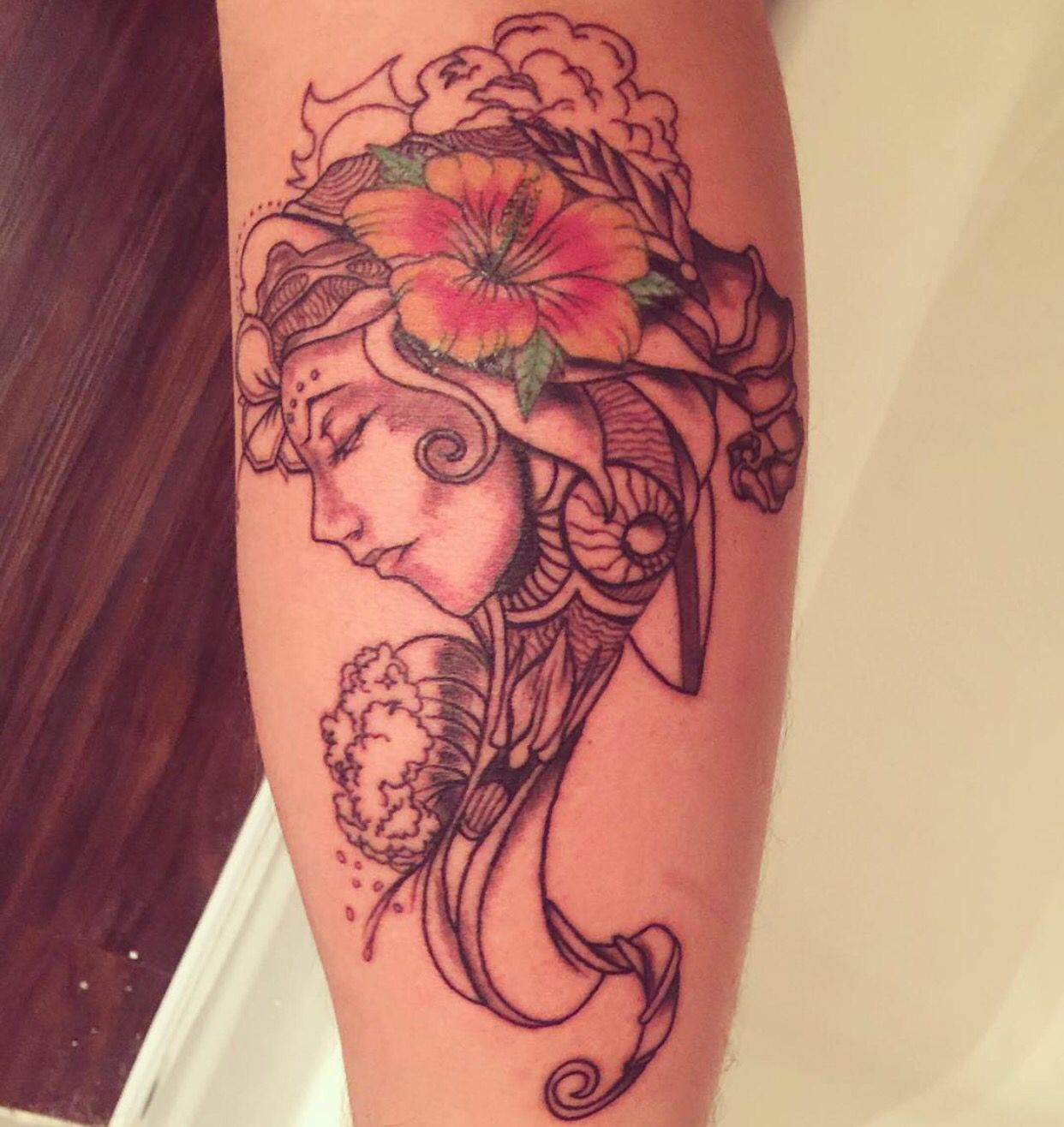 Incubus Tattoo I Got Art By Brandon Boyd Carlos Evans