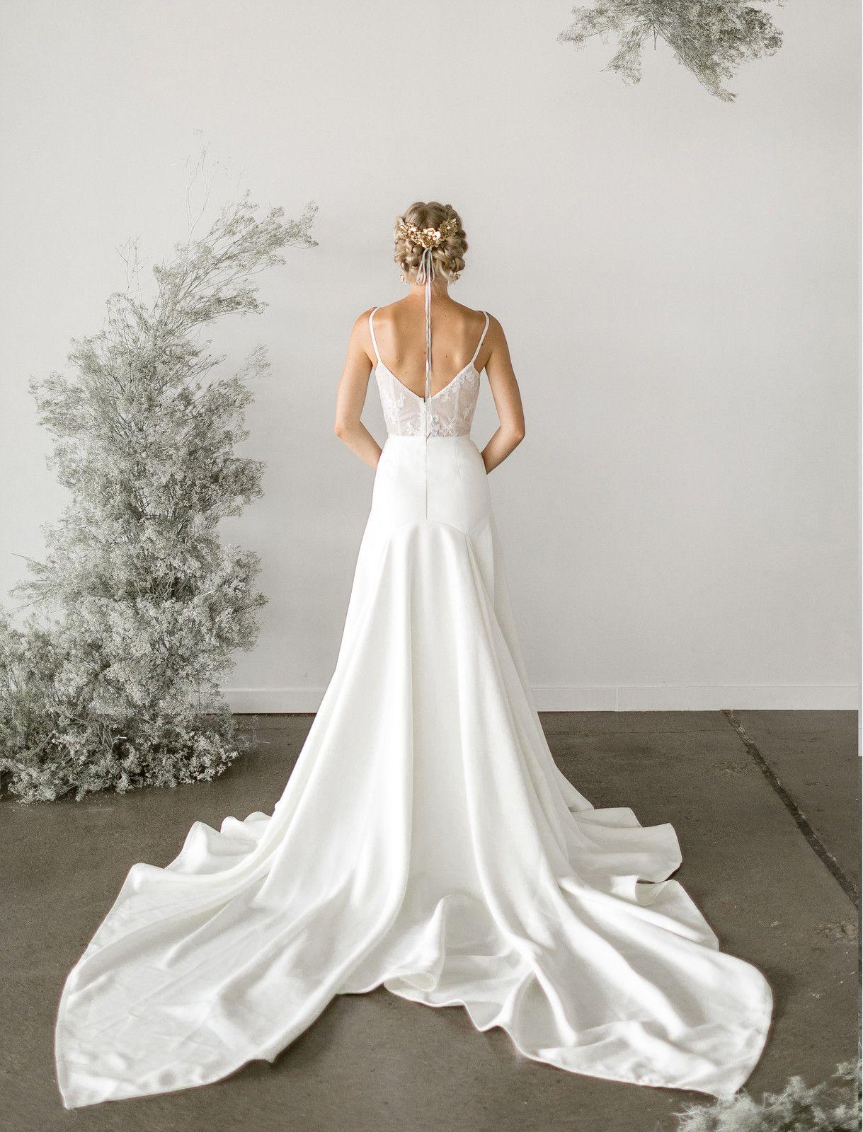 Wedding Dress Designers Wedding Dresses Lace Wedding Dresses With Straps Spaghetti Strap Wedding Dress