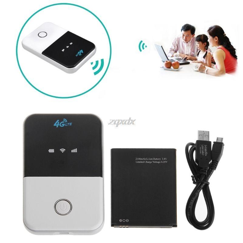 Wireless Wifi Router 3G 4G Lte Hotspot Car Wifi Router Sim Card Slot