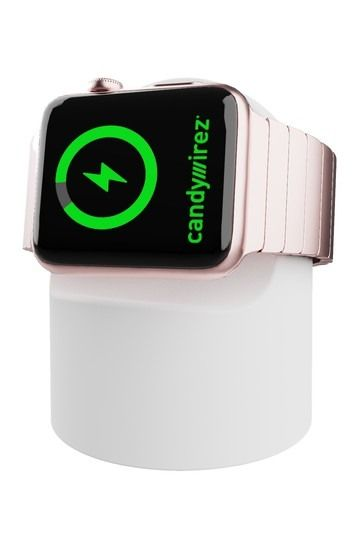 CANDYWIREZ | Wireless Charging Stand for Apple Watch - White #nordstromrack