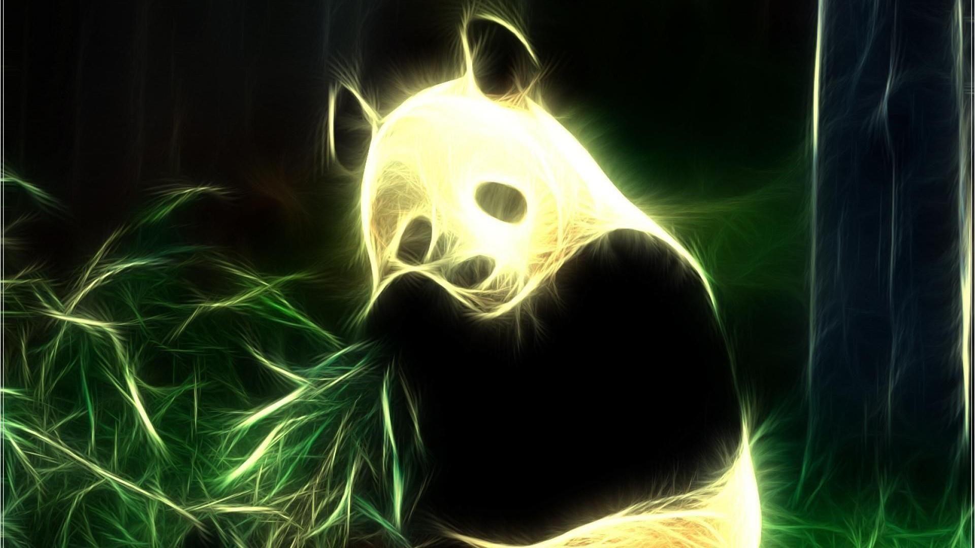 Neon Wallpapers Panda Wallpaper Cave Panda Wallpapers Neon Wallpaper Neon