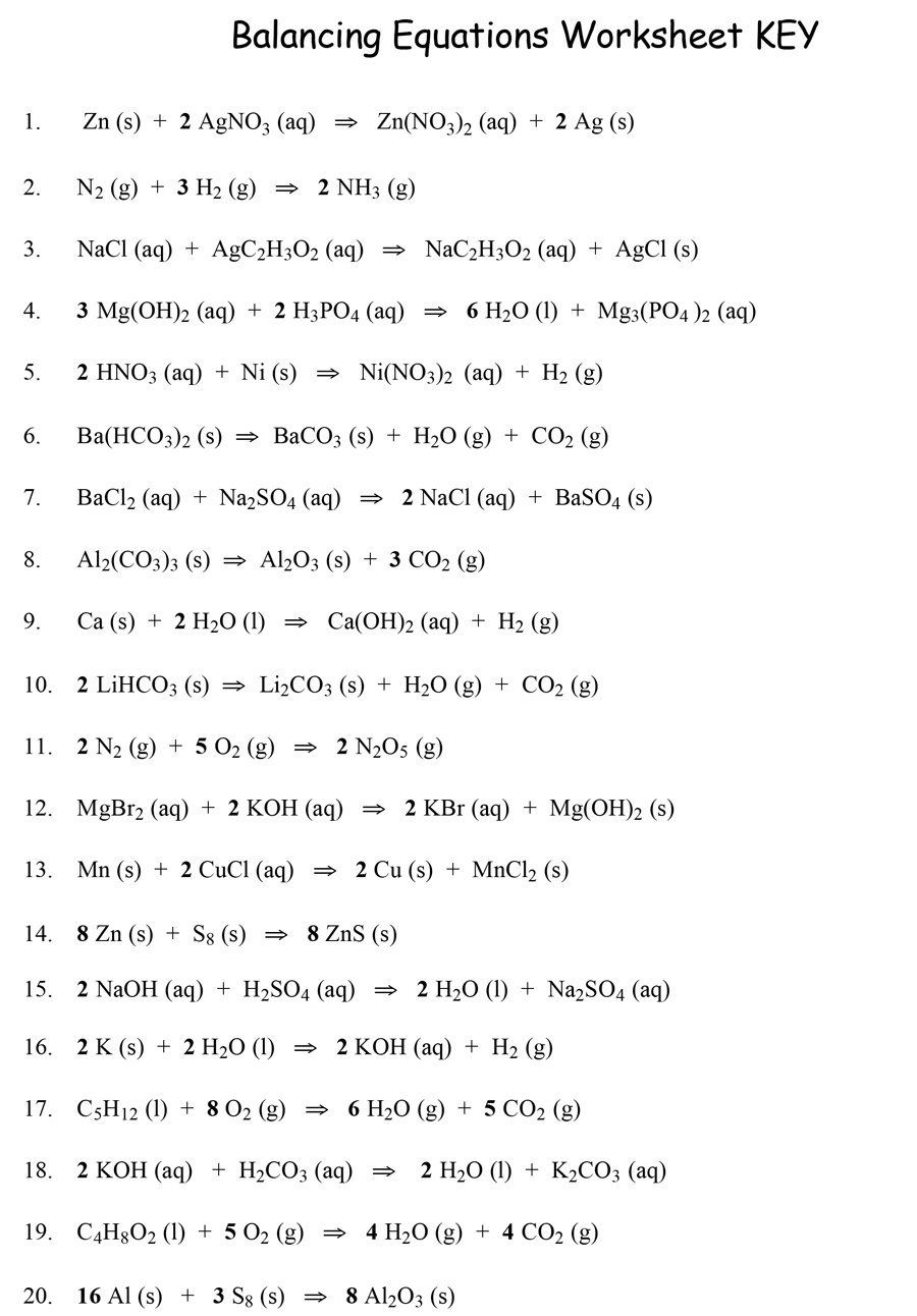 Download balancing equations 09 | Chemistry | Chemical equation ...