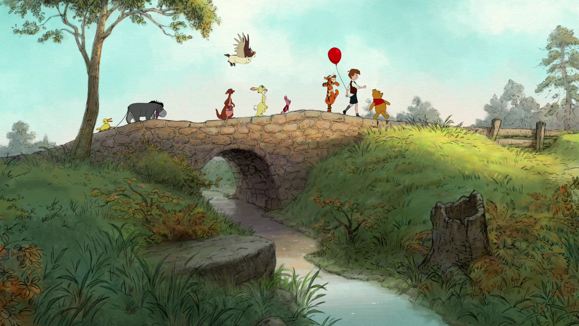 Winnie The Pooh Free Desktop Wallpapers For Hd Widescreen And Mobile Winnie The Pooh Background Cool Cartoons Best Cartoons Ever