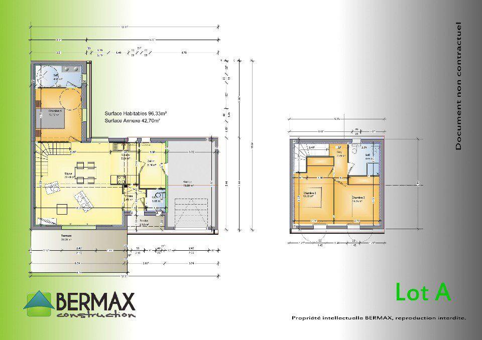 Plan achat maison neuve à construire - Bermax MAISON TRADITIONNELLE
