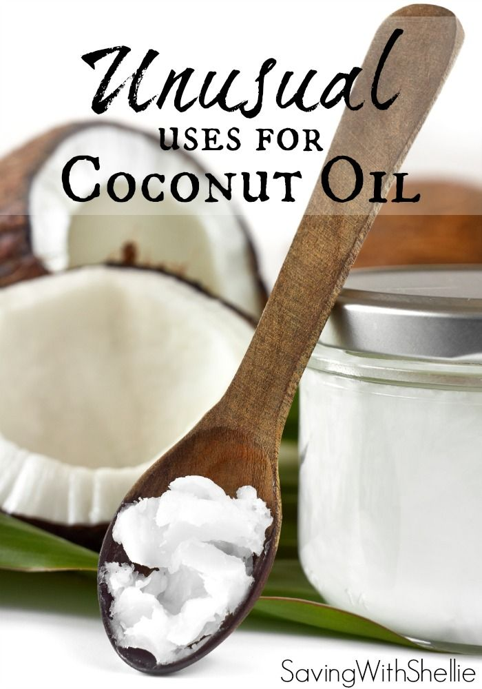 How to's : Coconut Oil is everywhere these days. Check out some of my favorite unusual uses for coconut oil: furniture polish, goo gone and more! You will be buying it by the gallon before you know it.