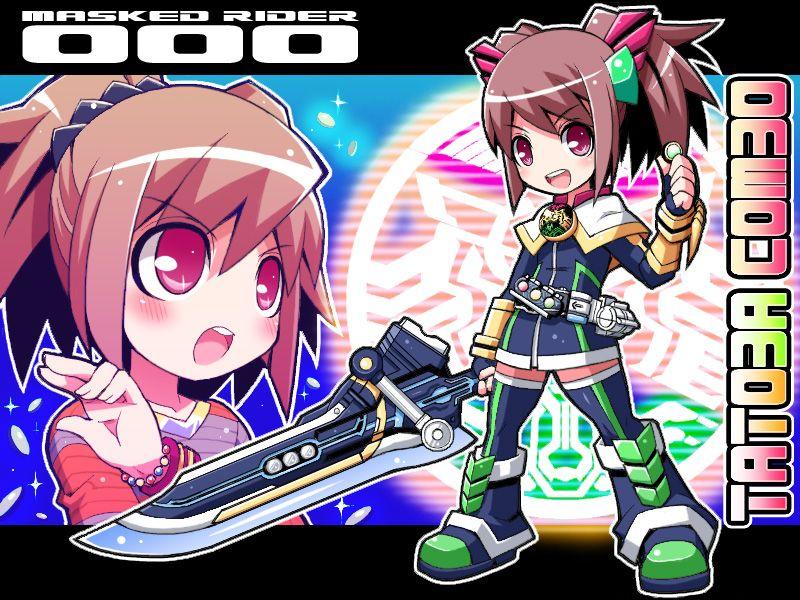 4 Fav Kamen Rider OOO Kamen rider, Anime, Hình ảnh