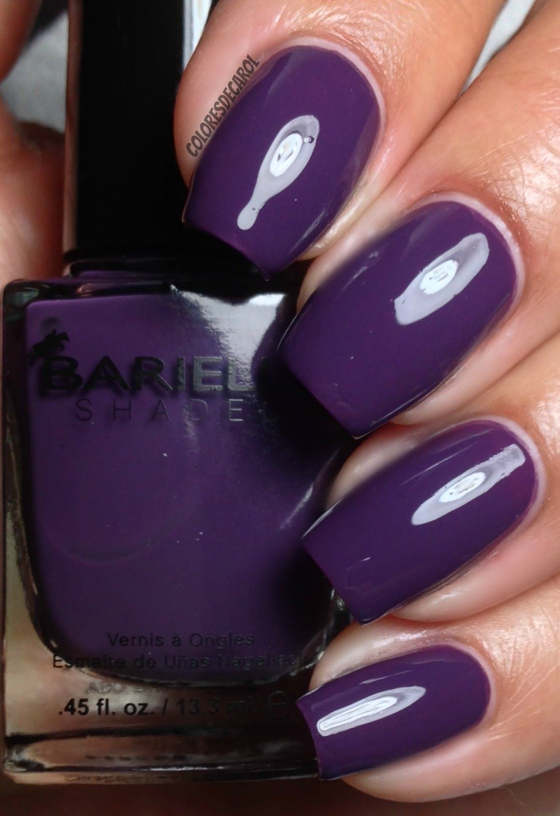 nails.quenalbertini: Colores de Carol | Barielle - Me Couture Collection for Fall 2014