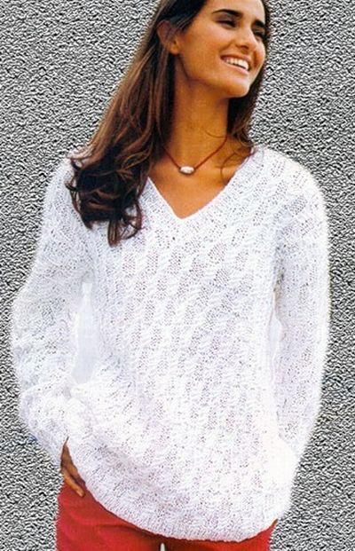 вязаный женский свитер 121 фото 2017 крупной вязки модели