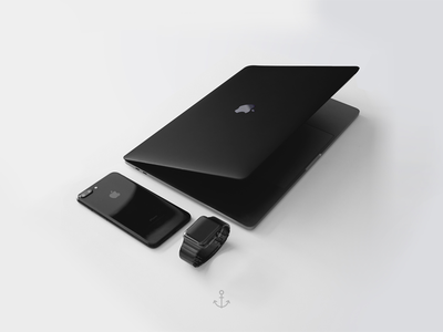 Black Setup Apple Technology Black Apple Apple Products