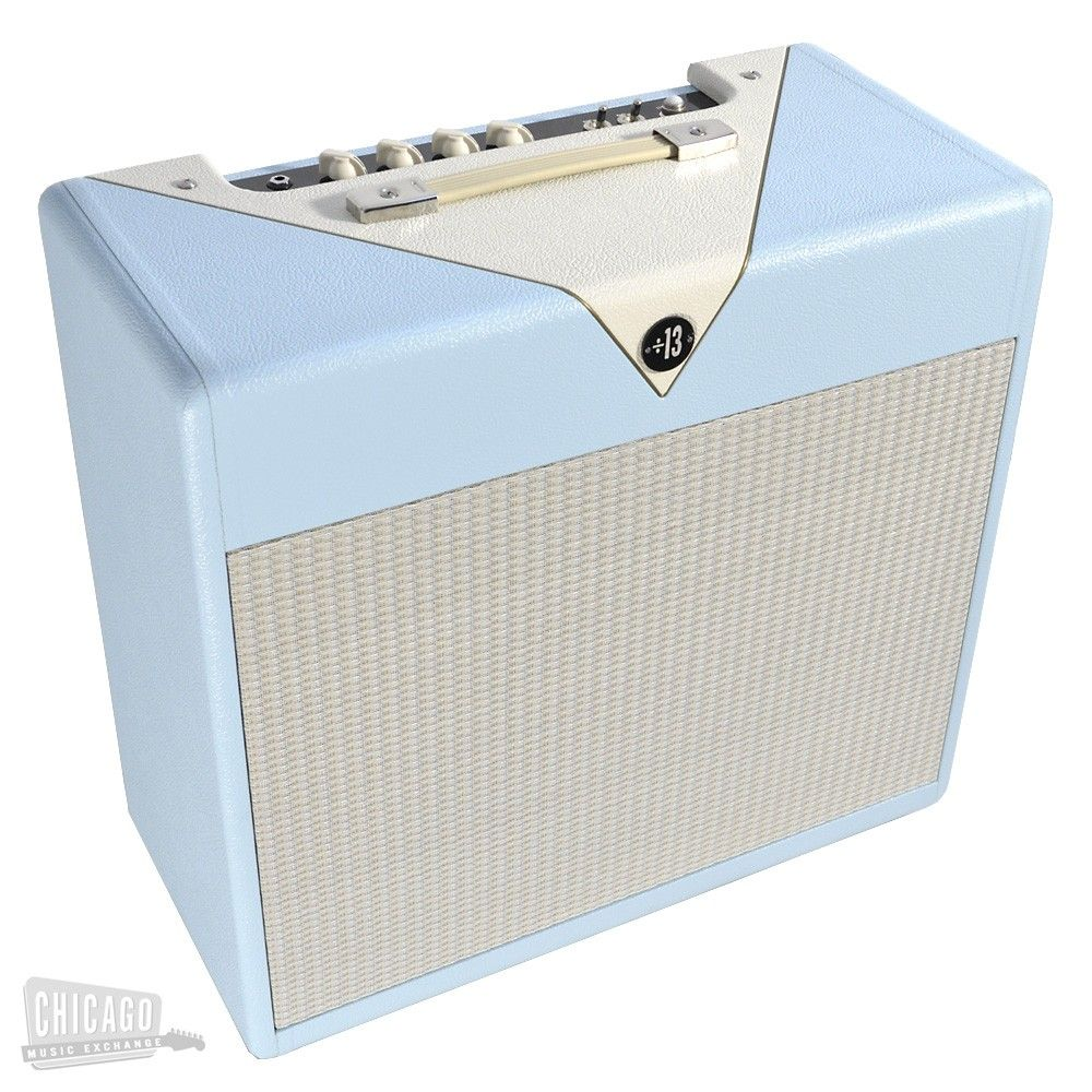 Divided by 13 CJ11 1x12 Combo Powder Blue/Egg Shell White - Chicago Music Exchange