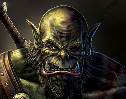 """Check out new work on my @Behance portfolio: """"Horde warrior"""" http://be.net/gallery/49801569/Horde-warrior"""