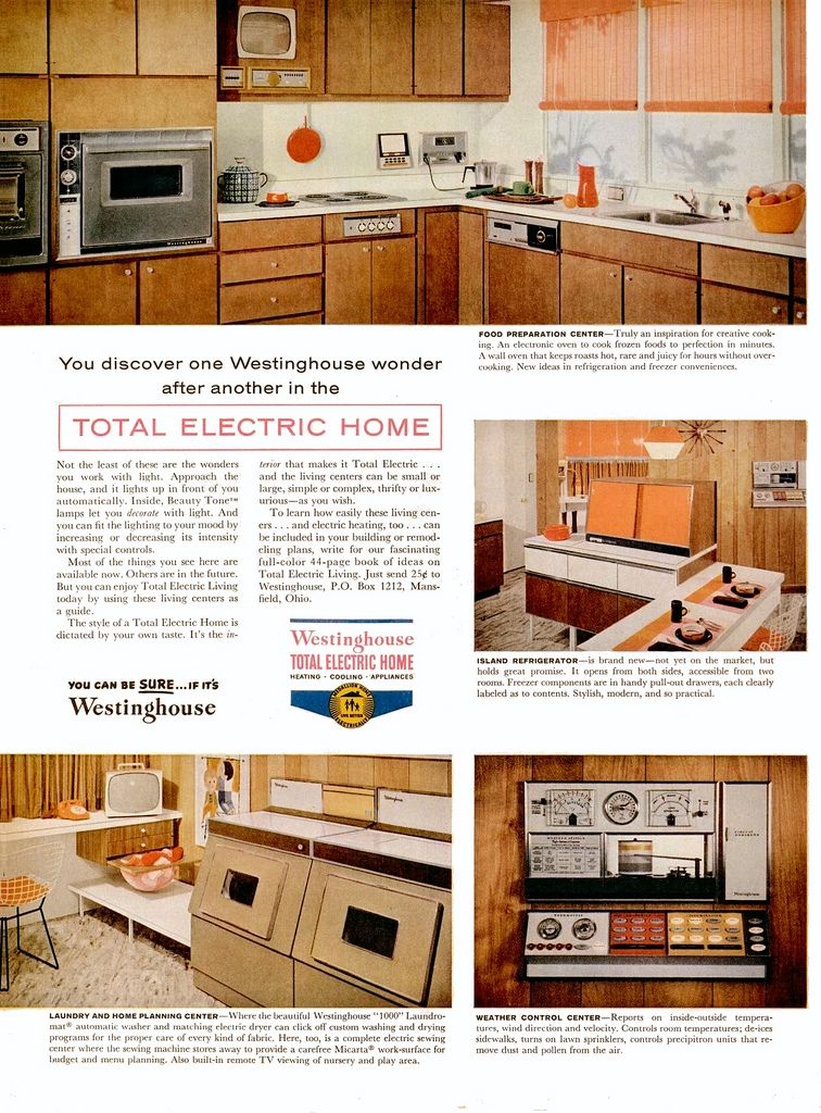 Westinghouse Total Electric Home Ad (Part 3 Of 3)   1959 | By MidCentArc