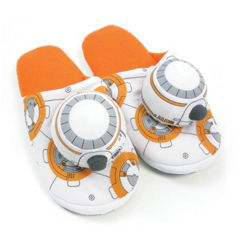 rogeriodemetrio.com: Star Wars BB-8 Slippers