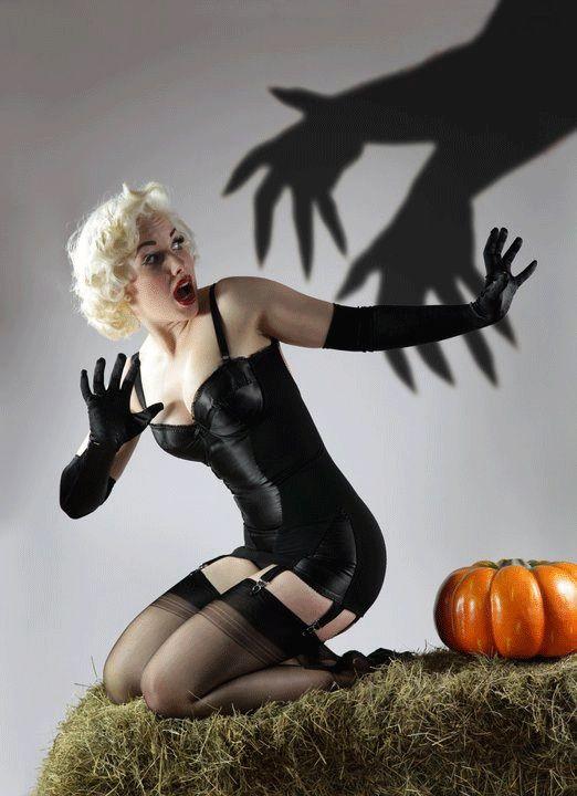 a2b192adef3 DIY Costuming: 8 Last Minute Lingerie Halloween ideas - http://www.