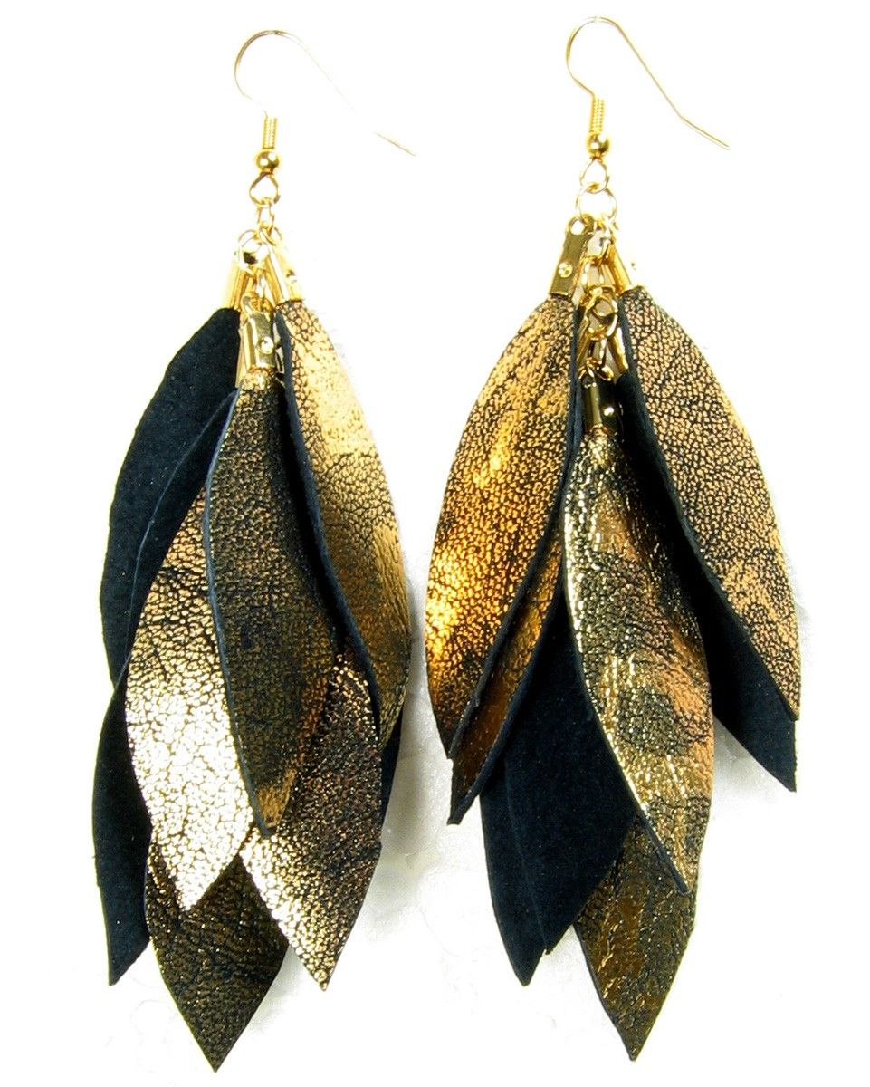 watch beads youtube designs earrings gold black