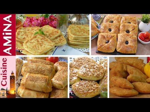 4358 سلسلة متنوعة ل5 وصفات لشهيوات رمضات 2020 مملحات و مورقات جد رائعة ومختارة مطبخ أمينة المراكشية Youtube Food Breakfast French Toast