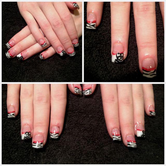 Metal Mulisha Nails!! | Nails! | Pinterest