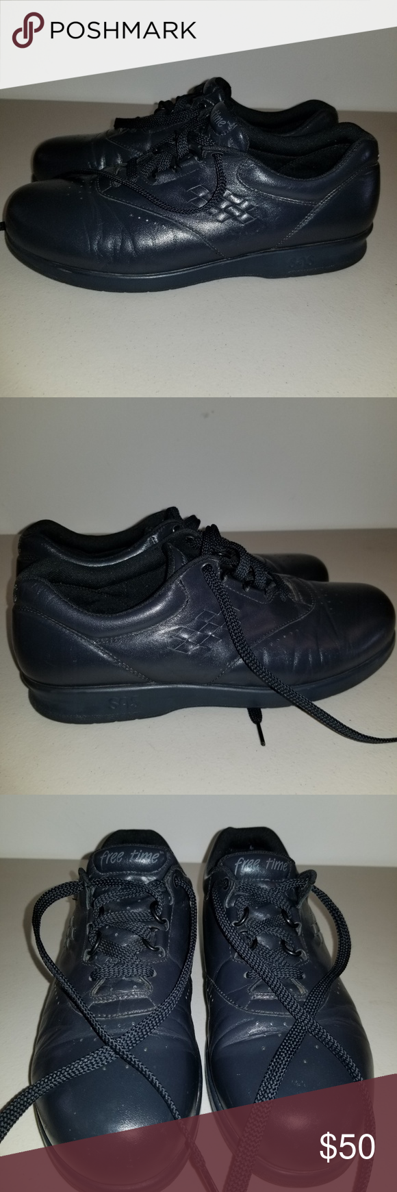 c89adca83 SAS Women s FREE TIME Black Comfort Shoes Sz 9 N SAS Women s FREE TIME Black  Comfort Shoes Sz 9 N. Gently Used Great Condition. SAS Shoes Sneakers