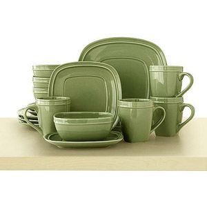 Canopy Soft Square Dinnerware Set Assorted Colors - but whereu0027s the red?  sc 1 st  Pinterest & Canopy Soft Square 16-Piece Dinnerware Set Assorted Colors | Must ...