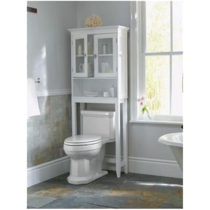 Over Toilet Storage Idea For Isaiahu0027s Bathroom.