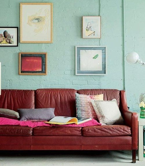 8 Great Living Rooms Why They Work Maroon Living Room Home