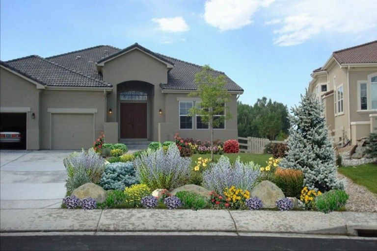 62 Top Xeriscape Landscaping Colorado Inspirations You Need To Know Large Yard Landscaping Large Backyard Landscaping Xeriscape Landscaping