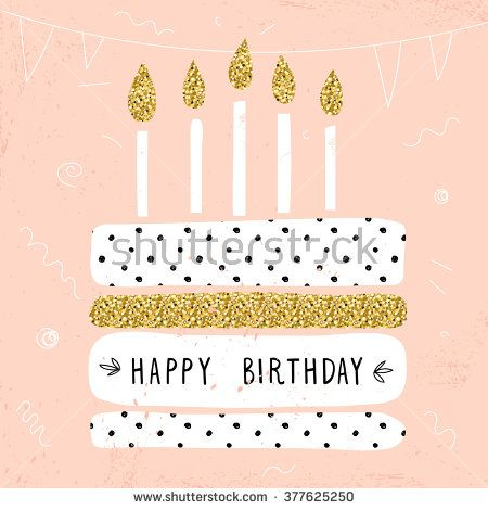 Cute happy birthday card with cake and candles vector illustration cute happy birthday card with cake and candles vector illustration bookmarktalkfo Images