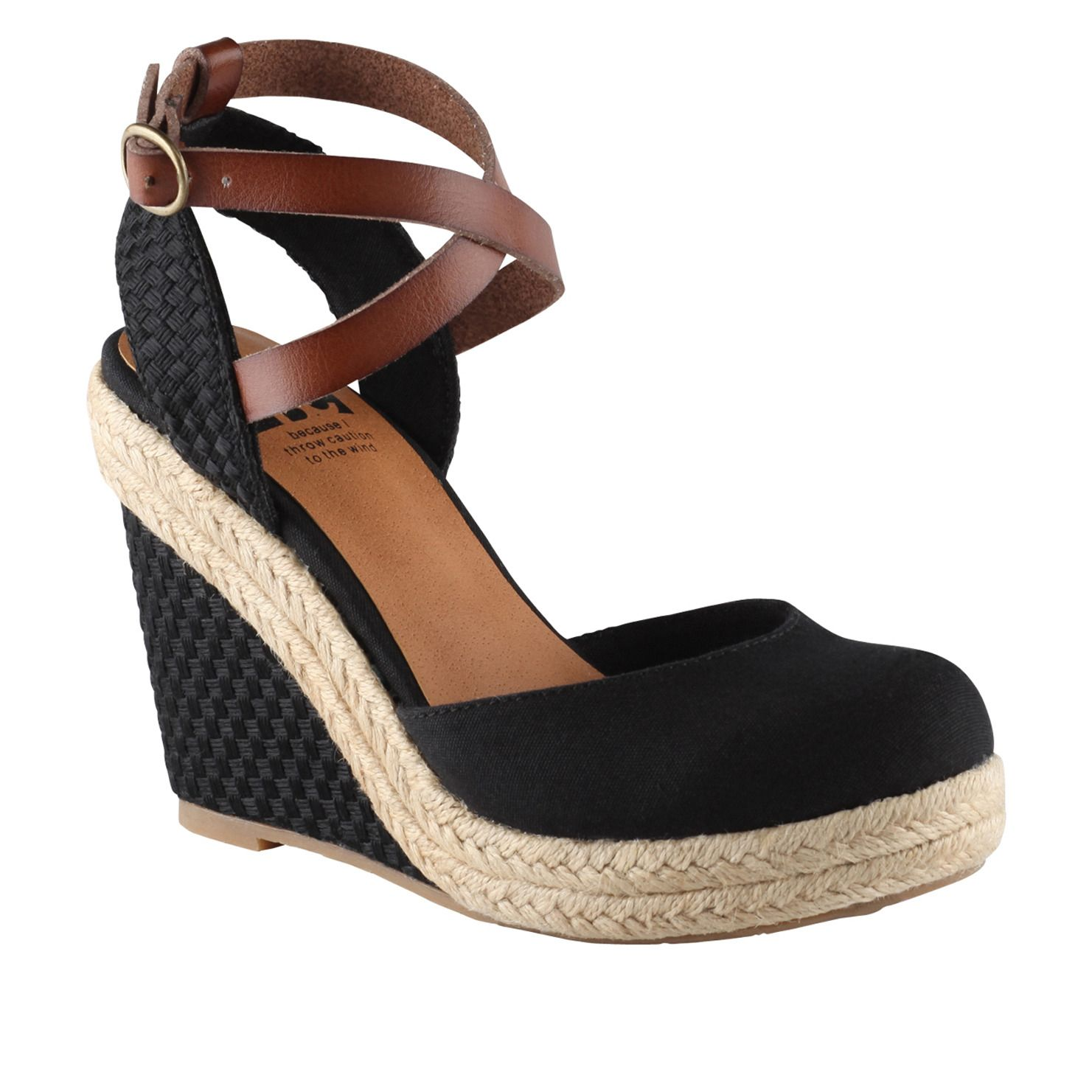 Closed toe wedge! Perfect for those days I don't want ...