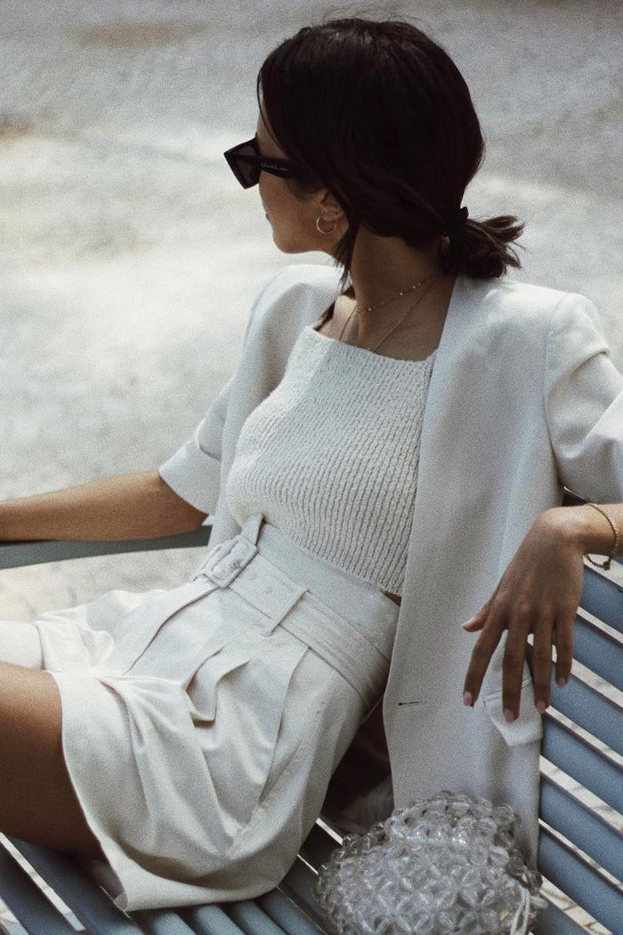 Short Suits Are About to Be the Biggest Summer Trend -  Dress like a strong, independent woman #women ##style #simple #minimalist #womenstyle #womenfashion - #Biggest #plussizedresses #Short #Suits #Summer #trend #womenglasses #womensstyle