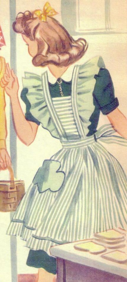 Girl Scout Aprons 1939 -1941