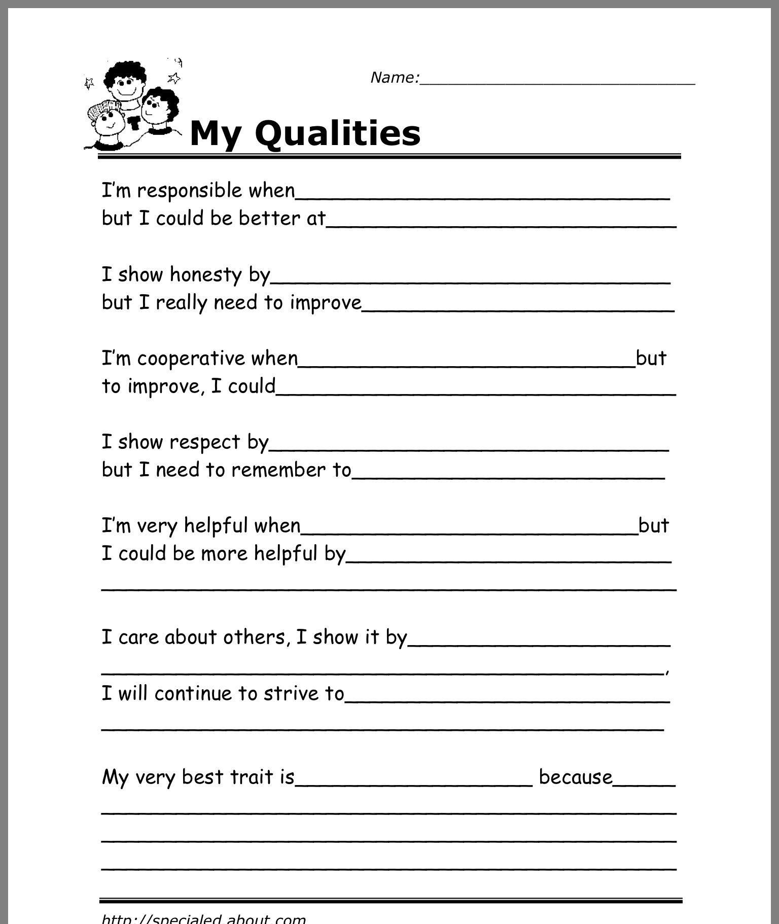 Pin By Winnie W On Counseling Self Esteem Worksheets Social Skills Activities Social Work Worksheets