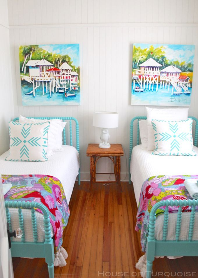 Cottage on the Green – Tybee Island | Kids Bedroom Decor ...