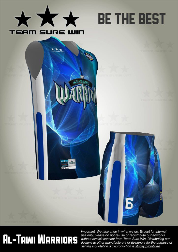 Sublimation Basketball Uniforms For Ksa Client Created By