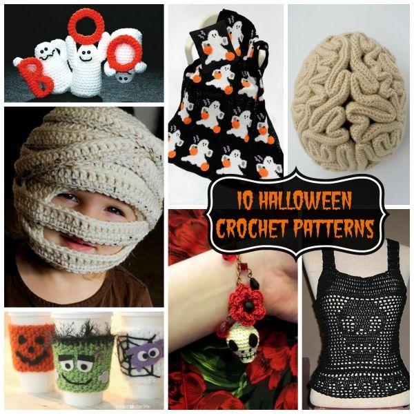 10 Halloween Crochet Patterns | Gorros, Tejido y Ganchillo