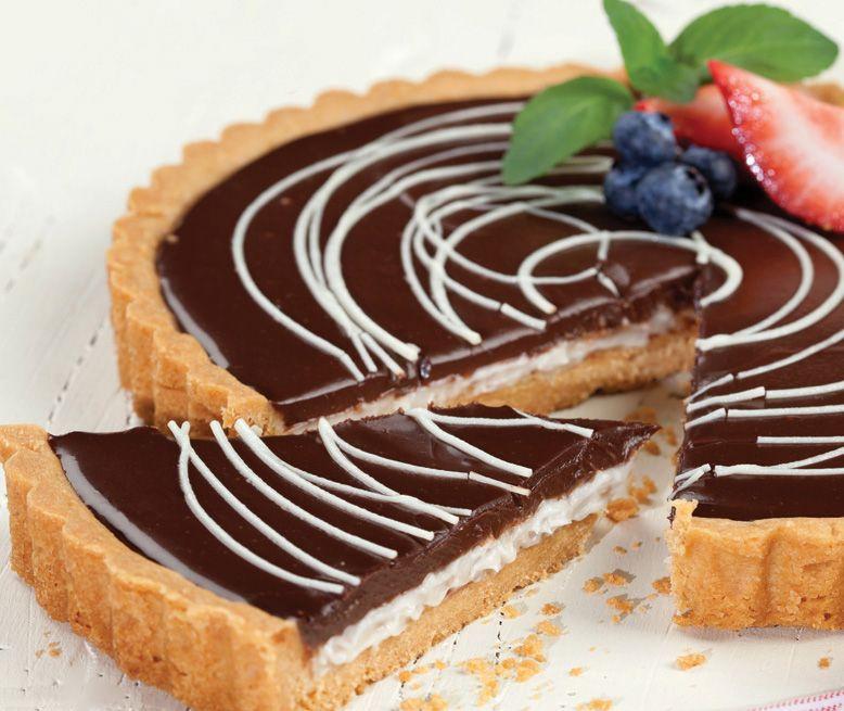"""Una verdadera delicia: """"Tarta choco-coco"""" ¡Encuentra la receta en nuestro número de septiembre!"""