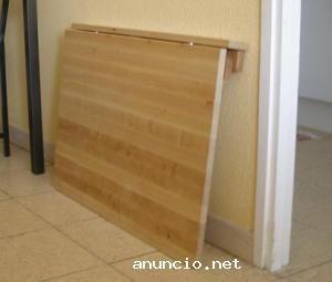 Mesa plegable por hacer ya pinterest mesa plegable - Mesa plegable pequena ...