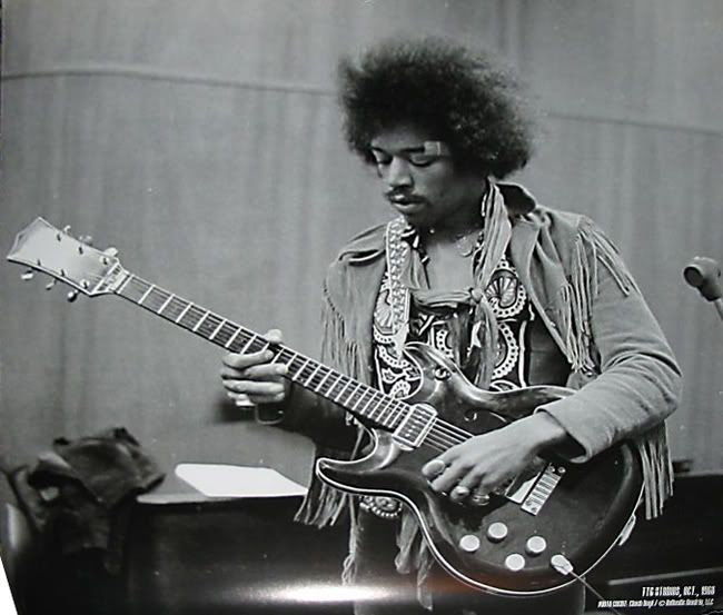 THE UNIQUE GUITAR BLOG: The Many Guitars of Jimi Hendrix