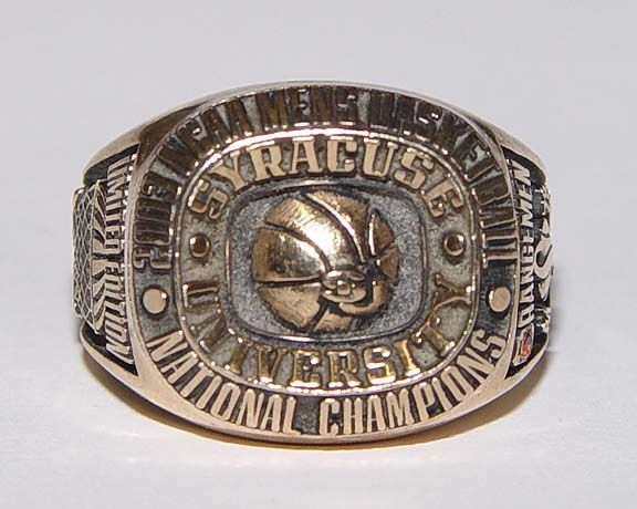 2003 Ncaa Mens Basketball National Champions Ring