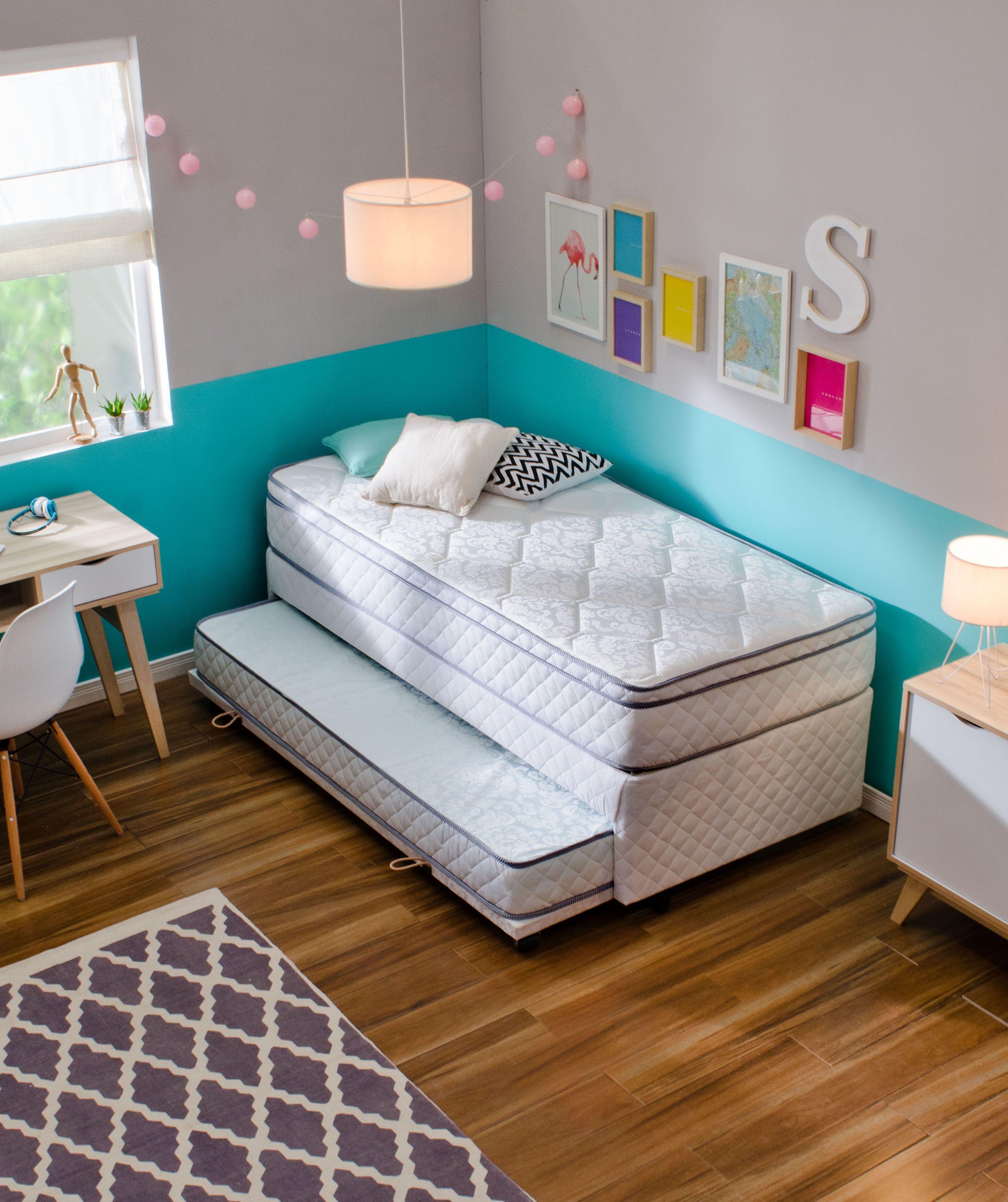 Colores alegres para un cuarto luminoso colores - Habitacion infantil verde ...