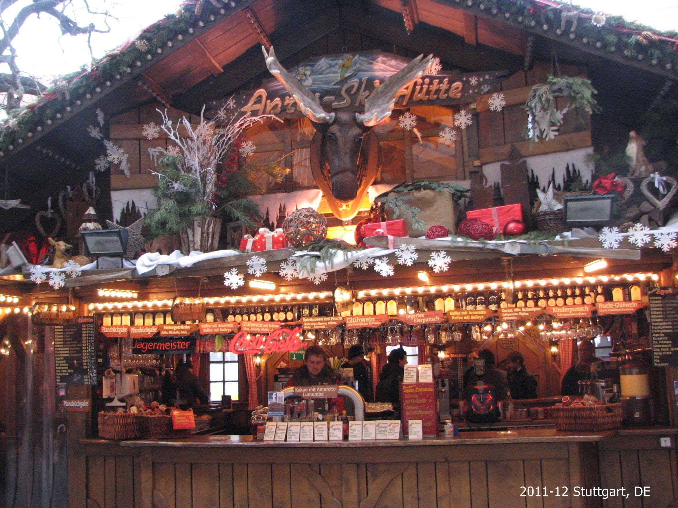 Ron Phillips Travel Stuttgart christmas market