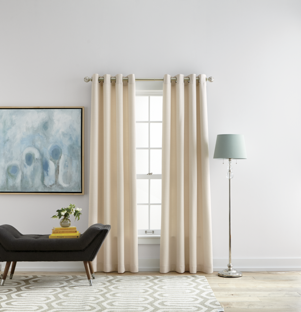 how to hang curtains style by